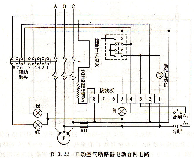 什么是柴油发电机合闸电路的原理