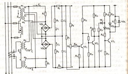 什么是同步发电机过载保护电路