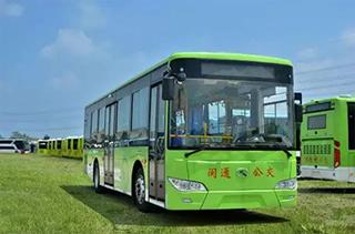 2016年1―5月福建新增新能源公交车263辆